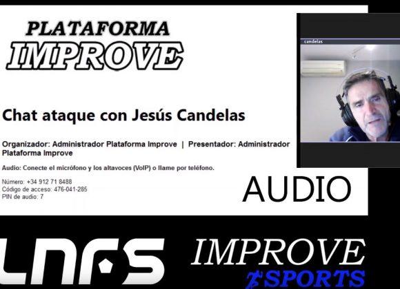 Chat en directo con Jesús Candelas (vídeo fragmento de la conversación)