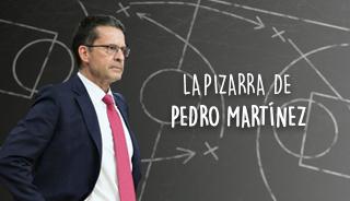 La pizarra de Pedro Martínez