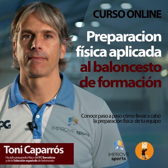 Toni Caparrós preparación física